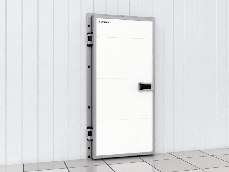 Дверь промышленная распашная для холодильных помещений