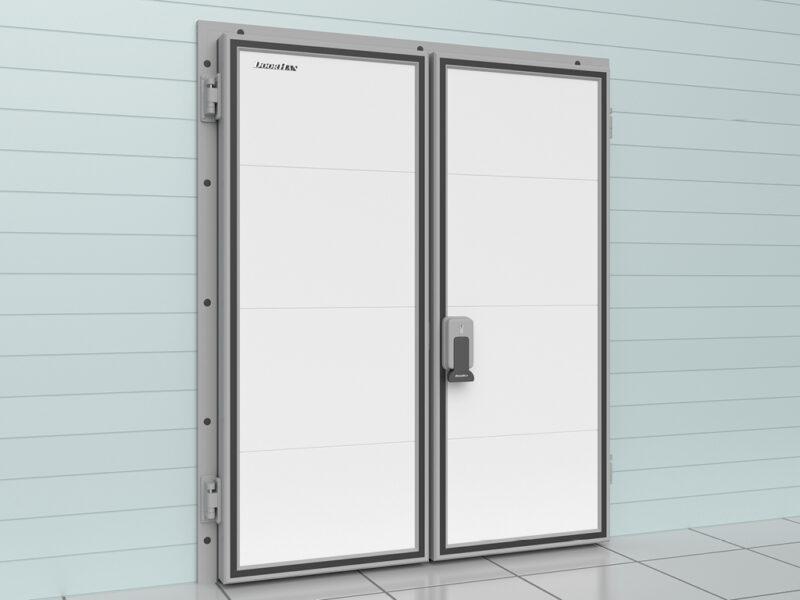 Дверь двустворчатая для холодильных помещений