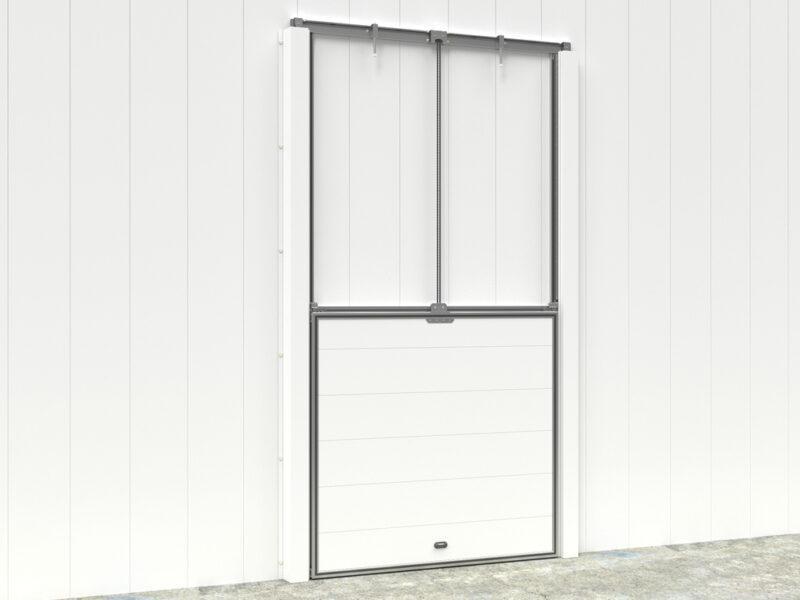 Дверь вертикально-подъёмная для холодильных и морозильных помещений