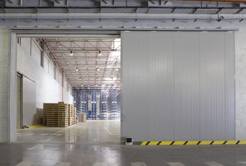 Откатные промышленные ворота DoorHan Москва купить