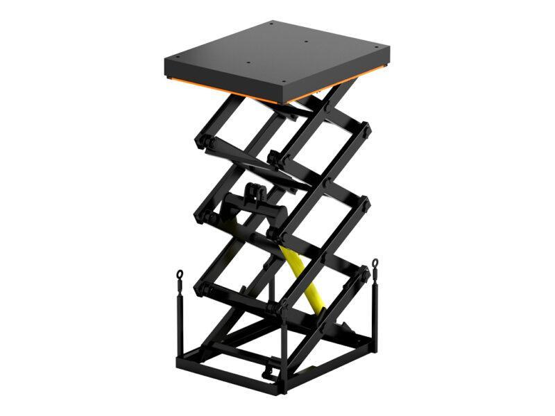 Подъемный стол с четырьмя парами ножниц купить