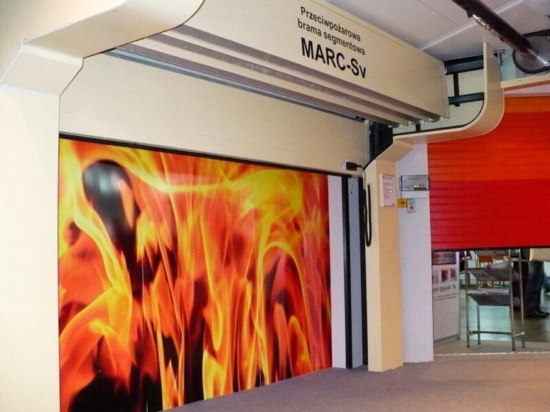 Секционные противопожарные ворота Алютех в Москве и области купить