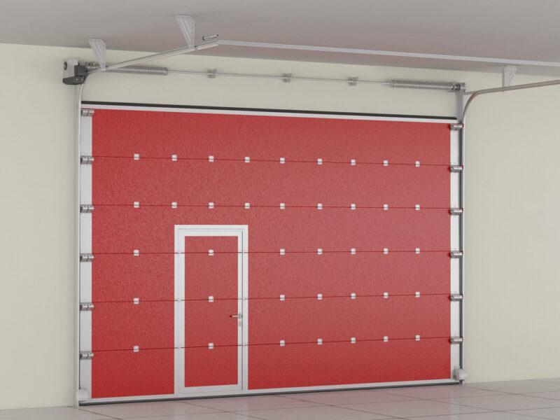 Секционные противопожарные ворота DoorHan Москва купить