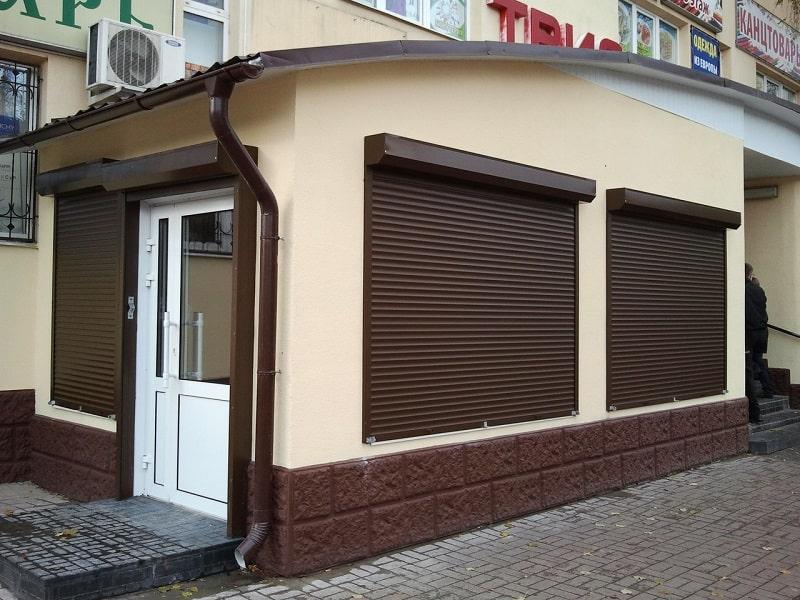Рольставни на окна купить Москва
