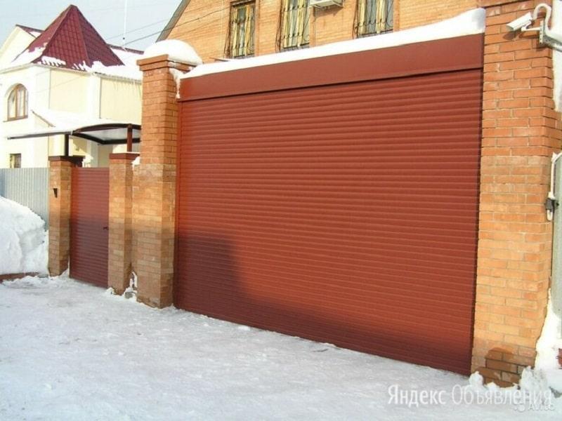 Ворота рольставни Москва установка
