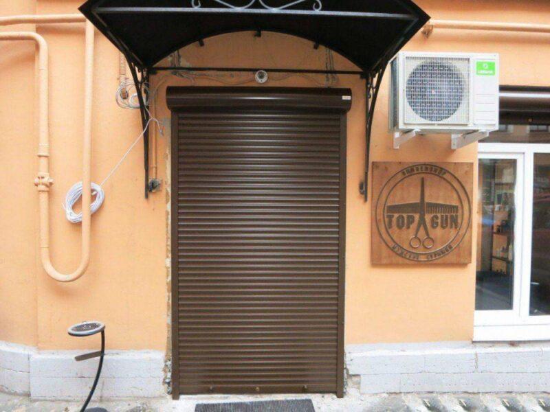 Рольставни на двери в Москве и области купить