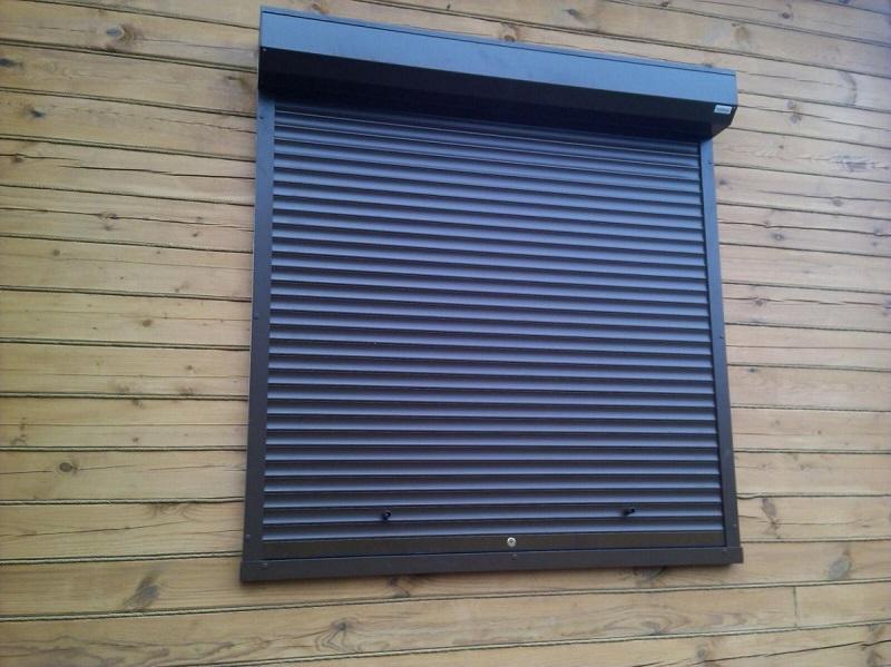 Установка рольставней на окна