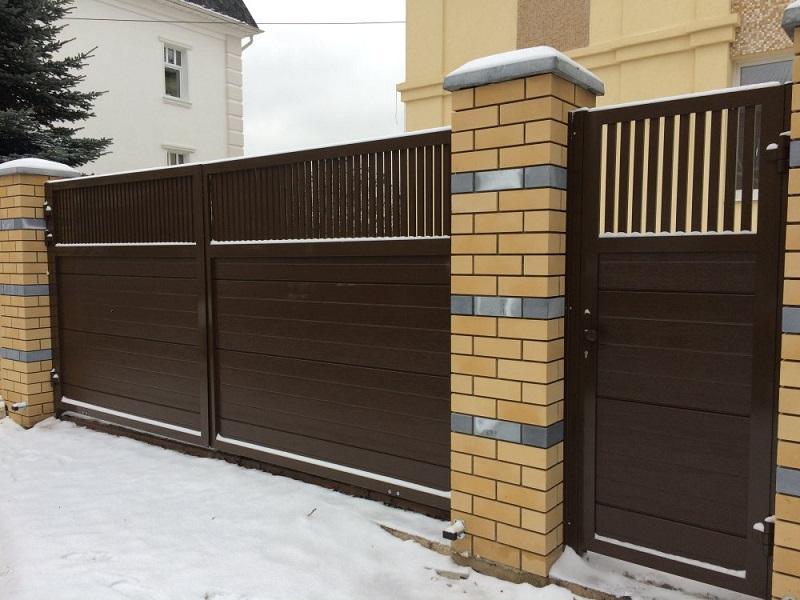 Распашные ворота Москва