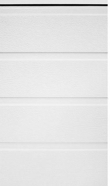 Типы панелей ворот - S-гофр