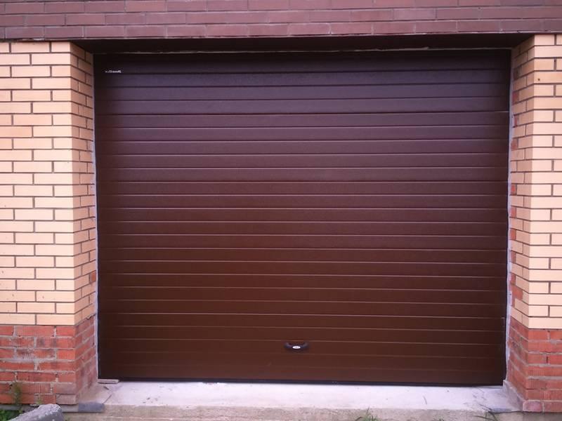 Секционные ворота для гаража купить